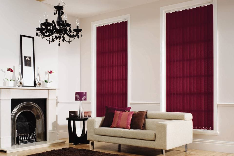 Vertical Blinds Are Practical And Functional And Can Be Used To Add Colour  To A Room. Part 96